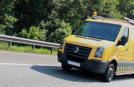 Φορτηγό απόφραξης στον Βύρωνα