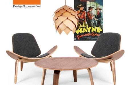 deco2 μοντέρνα έπιπλα πολυθρόνα ξύλινη Triade™